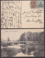 Pelplin Partie Bei Der Schleuse 1917 Nach Hamburg, Powiat Tczewski - Pommern