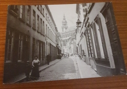 Mons Saint Elizabeth Vue De La Rue Peine Perdue Re édition  Jottrand - Mons