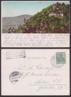 Kelbra Kyffhäuser Rothenburg  Mit Stempel Postbriefkasten 1902 - Kelbra