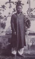 ASIE / VIETNAM / ANNAM / LAOS /  PHOTO DEBUT 1900 / CHEF DU CANTON DE TAM LONG / SONG CO? - Places