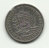 1967 - Venezuela 1 Bolivar, - Venezuela