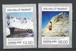 Groënland 2014, N°642/643 Neufs, Mines - Grönland
