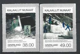 Groënland 2013, N°613/614 Neufs, Mines - Grönland
