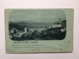 Slovenia Osrednja 6209 Logatec Loitsch 1898 Presavinuta - Slovenia
