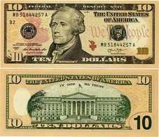 U.S.A.       10 Dollars       P-New       2013       UNC  [letter B: New York] - Federal Reserve Notes (1928-...)