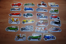 23 Stickers Van Oldtimers - Autocollants