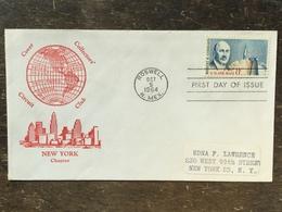 K5 USA Etats-Unis 1964 FDC Robert H. Goddard Space Kosmos - Premiers Jours (FDC)