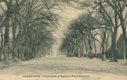 70 CHAMPLITTE AUMONIERES / Promenade Du Sainfoin - Place Guichard / - France