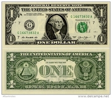 U.S.A.       1 Dollar       P-New       2013       UNC  [letter G: Chicago] - Federal Reserve Notes (1928-...)