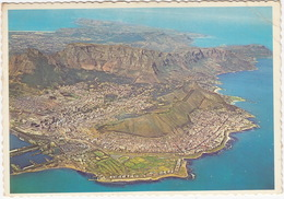 Aerial View Of Cape Town, From 2.500 M.  - South Africa - Zuid-Afrika