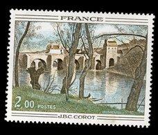France 1977 - Oblitéré - Y&T N° 1923 - Le Pont De Mantes De Camille Corot - Gebraucht