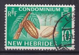 New Hebrides 1965 Mi. 212     10 C. Kakaofrüchte - Englische Legende
