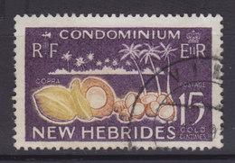 New Hebrides 1965 Mi. 200     15 C. Kokospalmen Kokosnüsse - Englische Legende