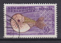 New Hebrides 1965 Mi. 201     30 C. Grosses Perlboot - Englische Legende