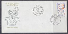 TAAF 1977 Expeditions Polaires 1v FDC Ca Dumont D'Urville  (F6958) - FDC