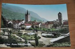 1738   Susa   Piazza Pola E Giardini   1963 - Italia
