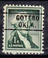 USA Precancel Vorausentwertung Preo, Locals Oklahoma, Gotebo 745 - Vereinigte Staaten