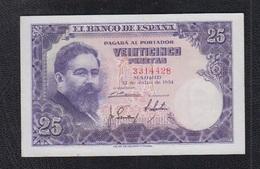 EDIFIL 467.-  25 PTAS 22 DE JULIO DE 1954 SIN SERIE CONSERVACIÓN EBC - [ 3] 1936-1975 : Regency Of Franco