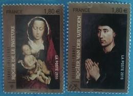 France 2010 : Série Artistique, Les Primitifs Flamands N° 4525 à 4526 Oblitéré - Oblitérés