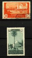 2299-Marruecos Español Nº 142 Y 157. - Marruecos Español