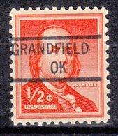 USA Precancel Vorausentwertung Preo, Locals Oklahoma, Granfield 841 - Vereinigte Staaten