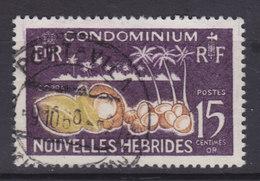 New Hebrides 1965 Mi. 204     15 C. Kokospalmen Kokosnüsse - Französische Legende