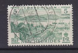 New Hebrides 1957 Mi. 172     5 C. Port Villa Und Insel Iririki - Englische Legende