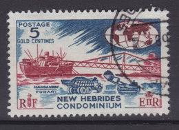 New Hebrides 1966 Mi. 236     5 C. Mangarenz-verladung - Englische Legende