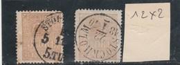 SUEDE -   Yvert N° 12 X 5 Oblitérés - 2 Scan - Suède