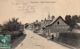 76 FOUCARMONT  Entrée De La Route De Caule - Other Municipalities