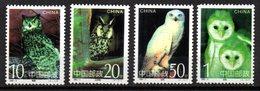 Serie Nº 3276/9  China - Owls