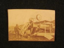 Photo Avion Capoté à Cormontreuil Près De Reims, Aviation France WW1. - 1914-18