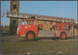 Humberside Fire Brigade Turntable Ladder - Advice Postcard - Trucks, Vans &  Lorries