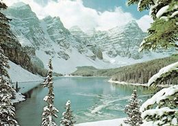 1 AK Kanada Alberta * Moraine Lake  Im Banff-Nationalpark - 1885 Gegründet - Seit 1984 UNESCO Weltnaturerbe - Banff