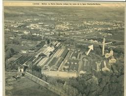 08 Ardennes  MOHON  Usine Lefort & Cie Lire Le Récit Intéressant La Fléche Ligne Charleville Reims - France