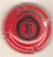 CAPSULE MUSELET CHAMPAGNE TRIBAUT Noir Sur Rouge - Tribaut