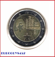 SLOVENIE - 2 € COM 2011 UNC - FRANC ROZMAN-STANE - Slovenia