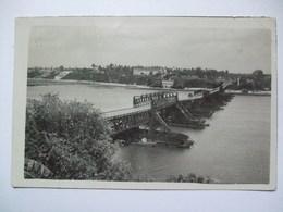 KENYA - Nyali Floating Pontoon Bridge - Real Photo 1937 - Kenya