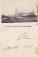 MAREDSOUS / ANHEE / L ABBAYE DE MAREDSOUS   1898  PRECURSEUR - Yvoir