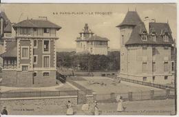 D62 - PARIS-PLAGE - LE TOUQUET - LES VILLAS WELCOME - LA CLAIRIERE LUMEN - (CARTE TRAMEE) - Le Touquet