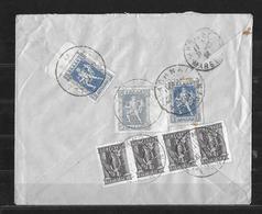 1927 ATHENES → Lettre Recommandée à Marseille France ►lettre Intéressante◄ - Grèce