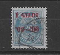 Sello De Islandia Nº Yvert 29 (A) (o) - 1873-1918 Danish Dependence