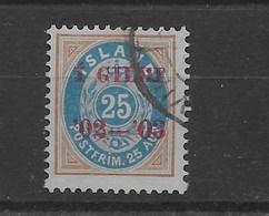 Sello De Islandia Nº Yvert 30 (A) (o) - 1873-1918 Danish Dependence
