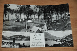 1750   Ostello Di Colico Lago Di Como Auto Camping   1954 - Lecco