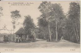 D62 - PARIS-PLAGE - EN FORET - L'ENTREE DU JEU DE TENNIS - (PETITE CALECHE) - Frankrijk