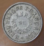 5 Centimes SIGEAN 1917 Mairie De Sigean - Monetari / Di Necessità
