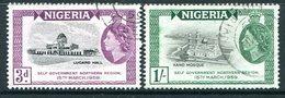 Nigeria 1959 Attainment Of Self-government Set Used (SG 83-84) - Nigeria (...-1960)