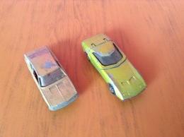 Dodge Mk III Et Audi 100 Coupé - Jouets Anciens