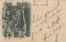 SCHLITZA-SCHLUCHT In TARVISIO - (Udine) - Cascata /Wasserfall - 1898 - Udine