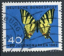 Germany 1962 40 + 20pf Butterfly Issue  #B383 - [7] Federal Republic